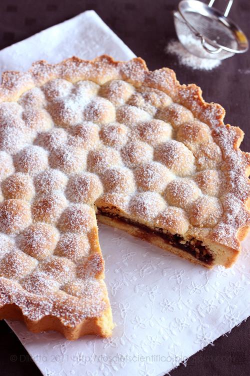 Amaretti, Sour Cherry & Maraschino Tart