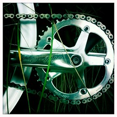 All-City Crankset (tangent) Tags: sanfrancisco bicycle gear oceanbeach fixed allcity crankset volumecutter sandsunes
