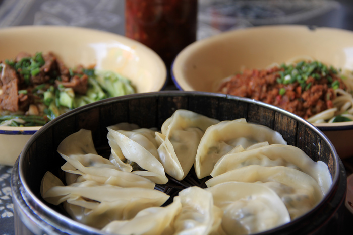 Steamed Dumplings (Jiaozi 餃子)