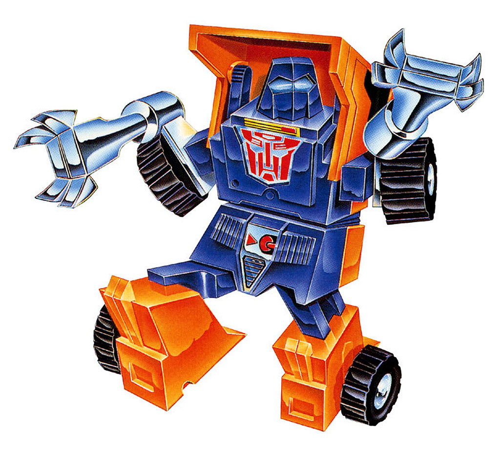 Huffer (Box Art from 1984)