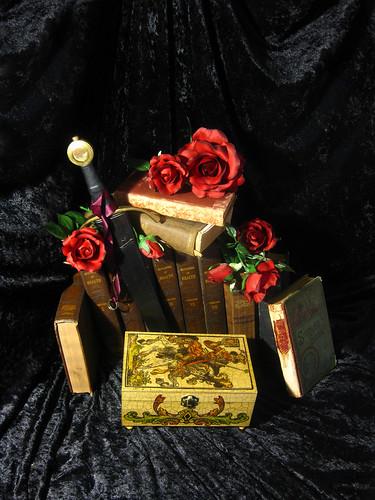 Antiqued Card Box 06