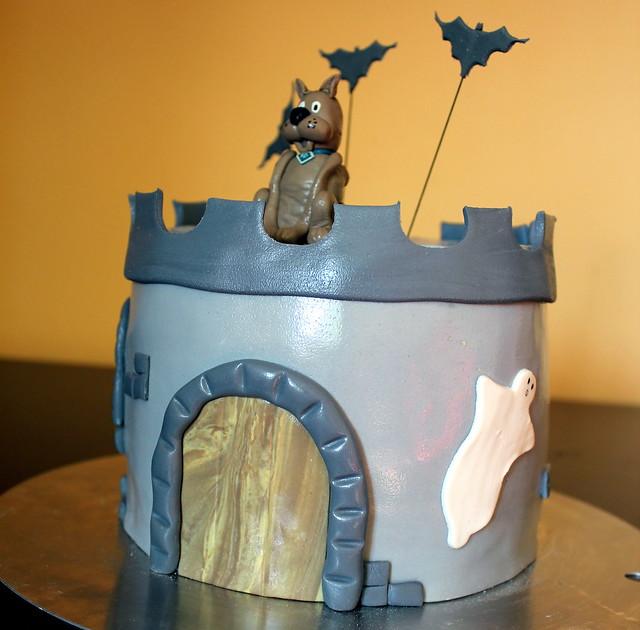Scooby Doo Spooky Cake2