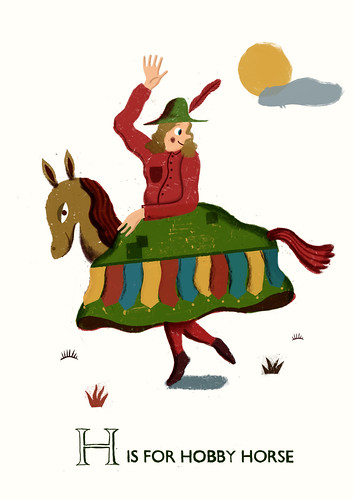 H is for Hobby Horse
