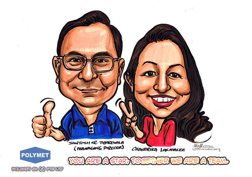 Caricatures for Polymet - 2