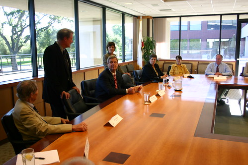 The Port of Sacramento was the venue for a focus by Secretary Vilsack on need for passage of the American Jobs Act.