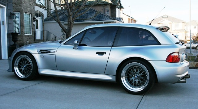 2002 BMW Z3 M Coupe | Titanium Silver | Black