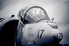 AV-8B (~Clubber~) Tags: blue usmc airplane fighter aircraft aviation military jet dramatic cockpit airshow filter marines hover harrier jumpjet vtol av8b usmarinecorps vstol