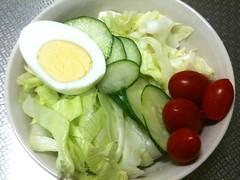 朝食サラダ(2011/9/29)