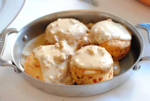 biscuits gravy