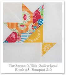 Farmer's Wife Quilt-a-Long - Block 8