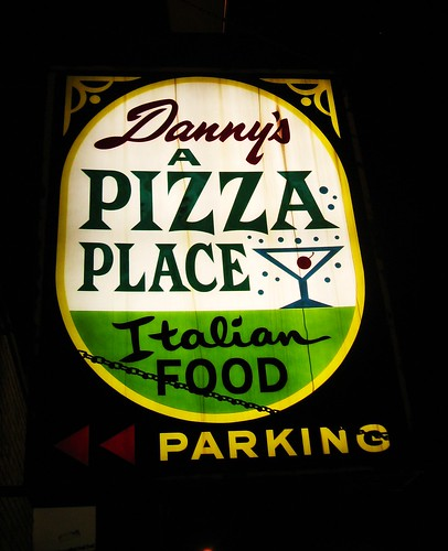 Danny's Pizza on South Archer Avenue in Chicago's Garfield Ridge neighborhood.  Tuesday, September 27th, 2011. by Eddie from Chicago