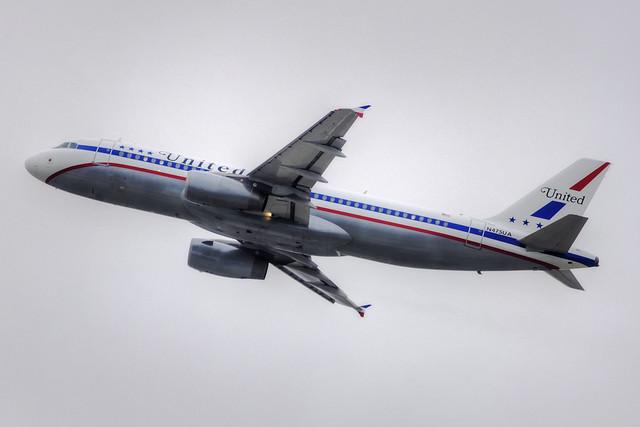 United Airlines (Stars and Bars) Airbus A320-232 (N475UA)
