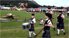 B of A Games2 (lairig4) Tags: scotland stirling pipe scottish meeting bands tradition kilts drummers 2009 pipers highlandgames bridgeofallan strathallan