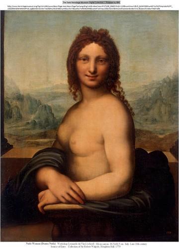 La belle gabrielle, nude giaconda, the smiler