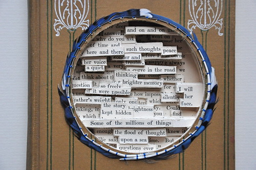 round the circle, altered book