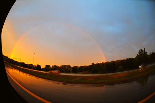 Rainbow in Grand Rapids!