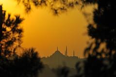 Süleymaniye'nin kalbi (Atakan Eser) Tags: günbatımı güneş üsküdar salacak dsc6884
