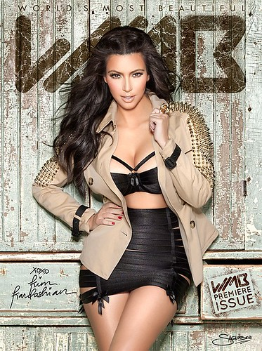 Kim Kardashian WMB MAGAZINE PICTURES AND VIDEO