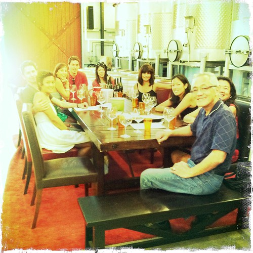 the fam at MacPhail family vineyards
