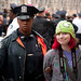 Girl in Green Hat Arrested: Occupy Wall Street Occupies the Brooklyn Bridge
