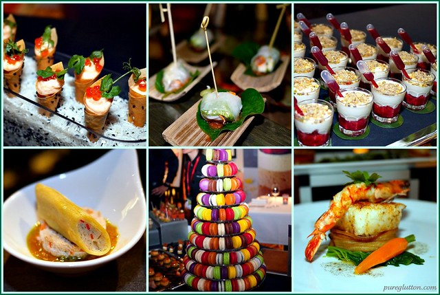 canapes collage