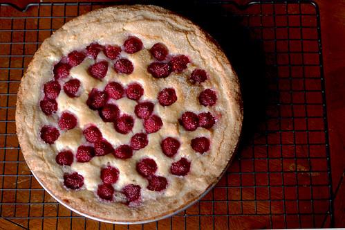 Raspberry Clafouti Tart 2