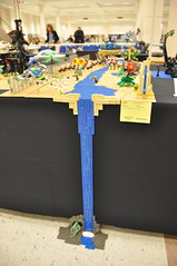 Numereji 2421: Ranchero Falls (Yupa-sama) Tags: lego display convention 2011 2421 brickcon numereji