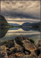 Fjord reflection (Ivorbean) Tags: norway landscape nikon moody cloudy fjord photoart moodyskies d700 nikond700 ivorbean wwwdallowphotoartcom