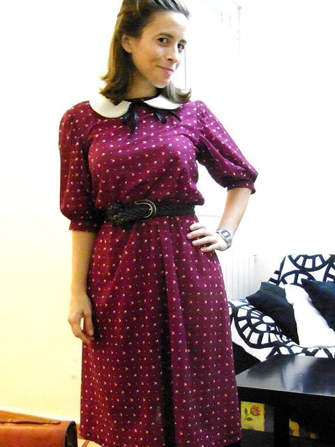 vestido rockit vintage
