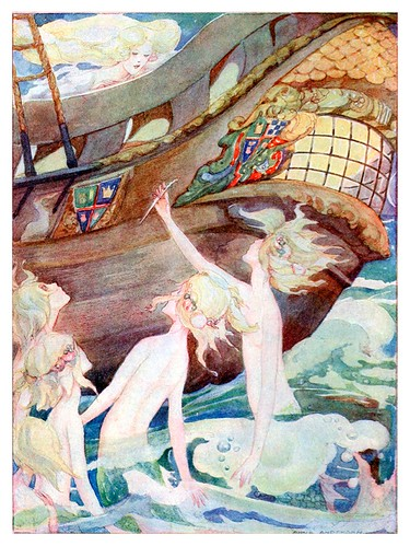 025-Cuentos de Hans Christian Andersen-La sirenita y sus hermanas-Anne Anderson