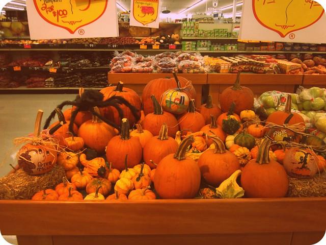 Fareway Pumpkin Display