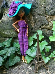 Monster High Afternoon Tea - Clawdeen (Nataloons) Tags: party paris fashion monster by high wolf doll tea mattel louos souol clawdeen monsterhigh clawdeenwolf