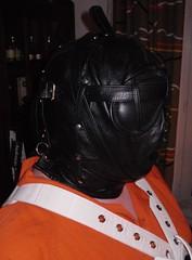 Bondage 3 (bondagehaj) Tags: mask bondage hood prisoner inmate humane restraint segufix