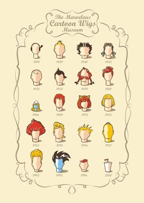 perucas nerds