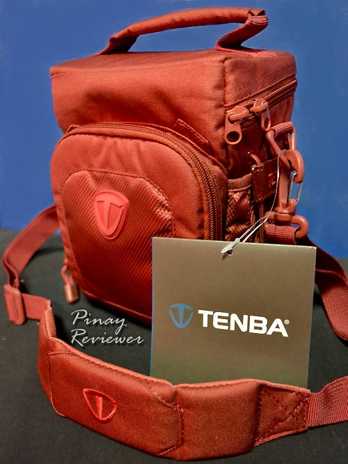 Tenba Vector Top Load 1 in Cadmium Red - side view