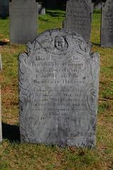 Salem - Gravestone (svenstorm) Tags: fall halloween graveyard massachusetts cemetary newengland salem gravestones buryingpoint historicnewengland