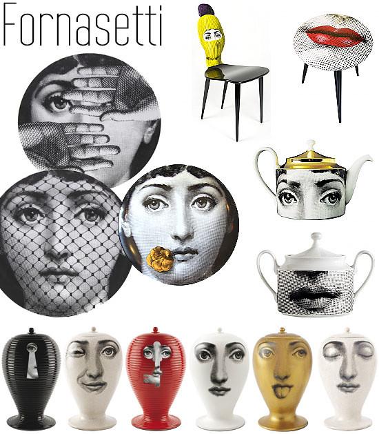 Fornasetti designs
