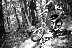 Luca. Just seconds before... (ilDega) Tags: wood italy mountain bike canon eos italia ride liguria hill free down downhill il holy varazze dh mtb 7d monte freeride dega beigua alpicella ildega