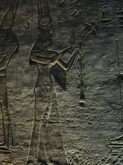 Interior Reliefs at Abu Simbel (III) (isawnyu) Tags: building history archaeology stone architecture religious temple ancient masonry egypt carve nile offer relief valley pharaoh civilization papyrus abu decorate ramses simbel egyptology ramesses nefertari pleiades:depicts=721417202