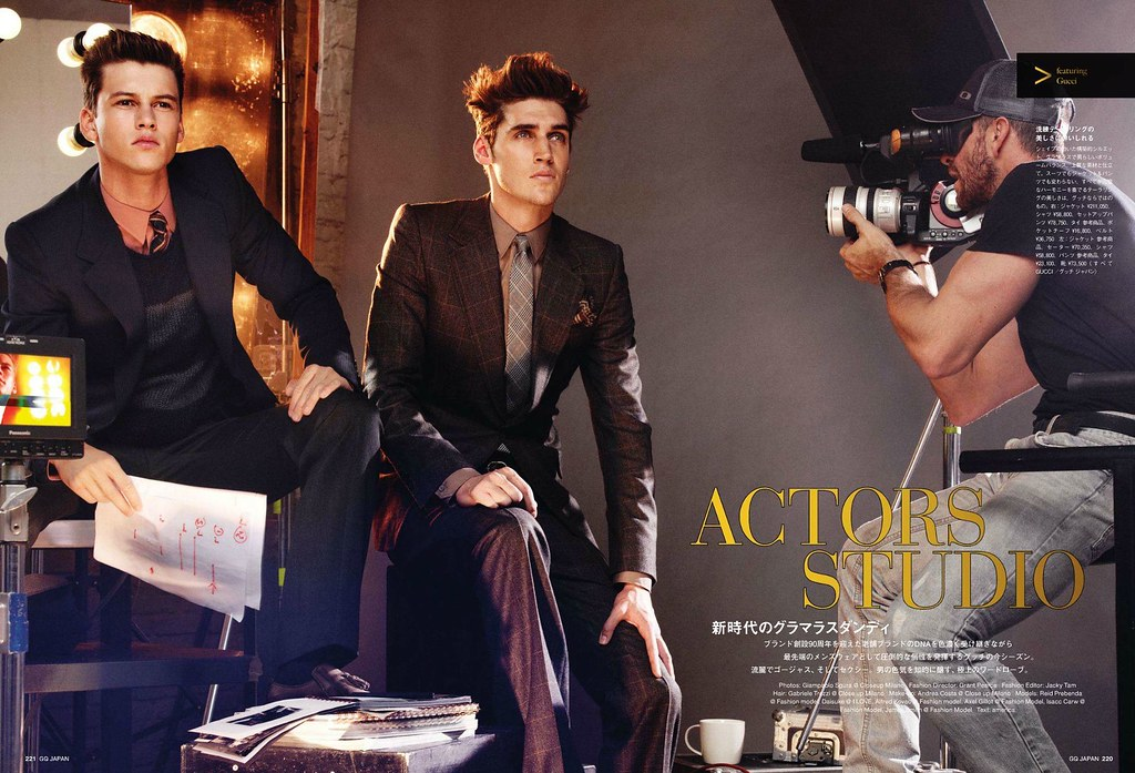 GQ Japan102_2011_11_005Isaac Carew&Alfred Kovac