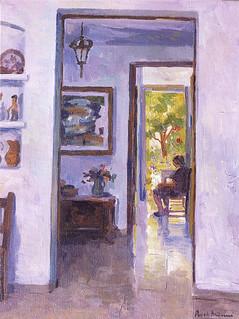 Interior de Ca'n Roch (óleo s/tela)