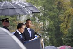 State Arrival Ceremony for the South Korean President (Brandon Kopp) Tags: weather washingtondc dc nikon raw president ceremony dcist obama d300 18200mm