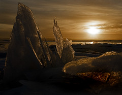 Winter fantasy (Master Pedda http://petersamuelsson.se/) Tags: winter sunset ice coast sweden halland fanatasy mygearandme ringexcellence musictomyeyeslevel1