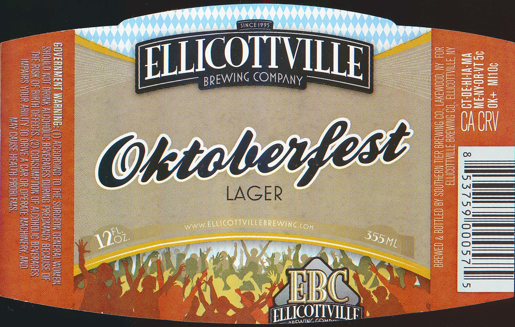 Oktoberfest Lager - Ellicottville Brewing Company