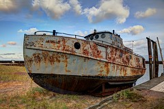 La Belle At Rest (Brian Callahan (Luxgnos.com)) Tags: old boat rust whitefishpoint labelle fishigboat paradisemichigan briancallahan shinsanbc luxgnosphotography luxgnosis luxgnosiscom