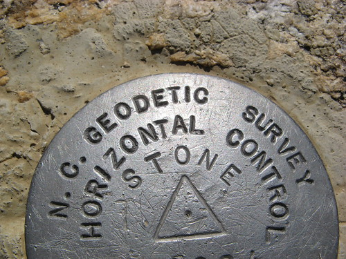 Stone Mountain summit marker