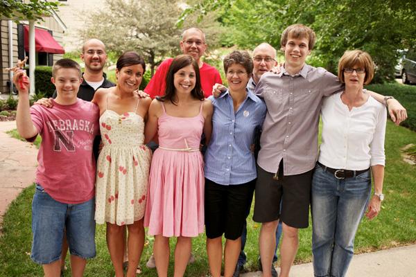 Omaha, Nebraska Wedding Planner rehearsal_family