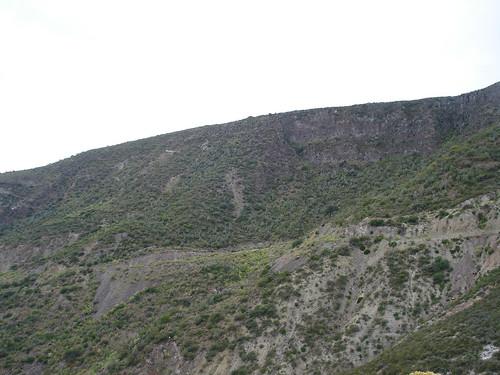 Vista de las laderas