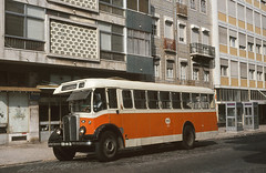 Carris 111 Campolide 1983 (Guy Arab UF) Tags: bus portugal buses lisboa lisbon iii 111 carris regal weymann aec campolide autocarros utic eb1431