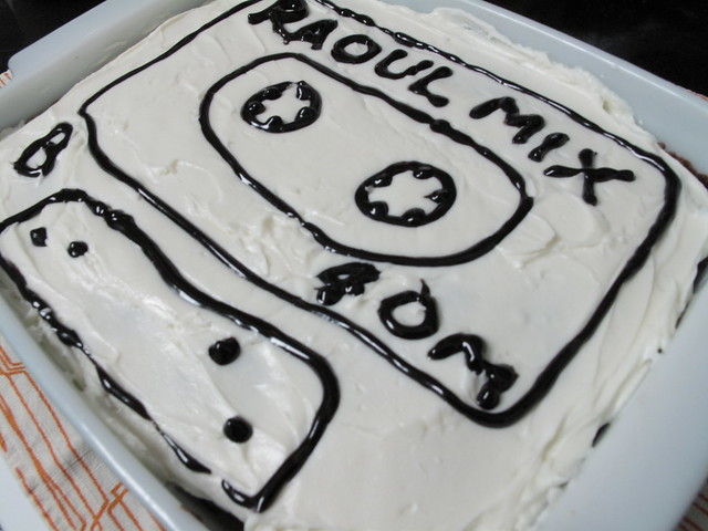 Raoul's birthday cake 2011.